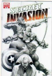 Secret Invasion #2 Sketch Retail Incentive Variant 1:75 Marvel comic book